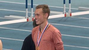 Valentijn Weinans 1500m NK kampioen 2018