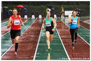 Marlou op de 100m