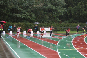 Marian op de 100m