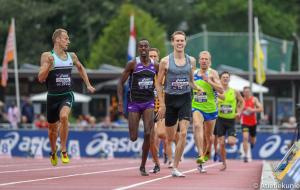 Valentijn Weinans als 2e op de 1500m NK 2019