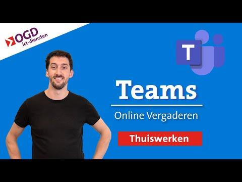 Thusiwerken met Teams