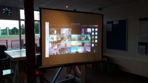 AV op het scherm